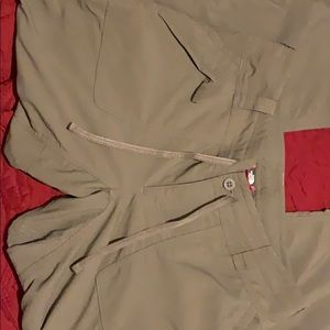 North face Army Green cargo pants size 8